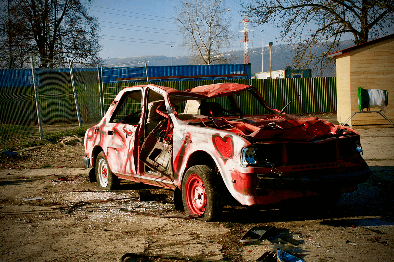 Car demolition 3