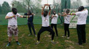 rozlučka se svobodou lukohra archery game praha