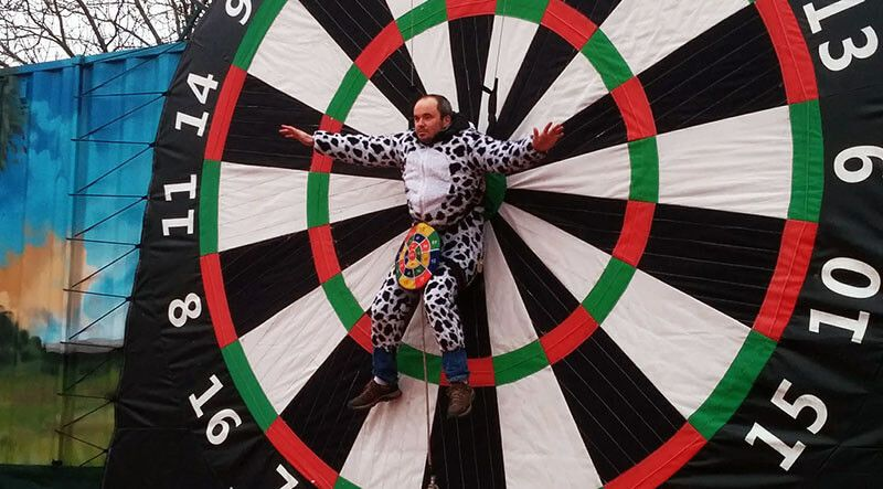 Bachelor darts stag party