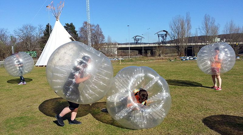 Hen party Prague bodyzorbing