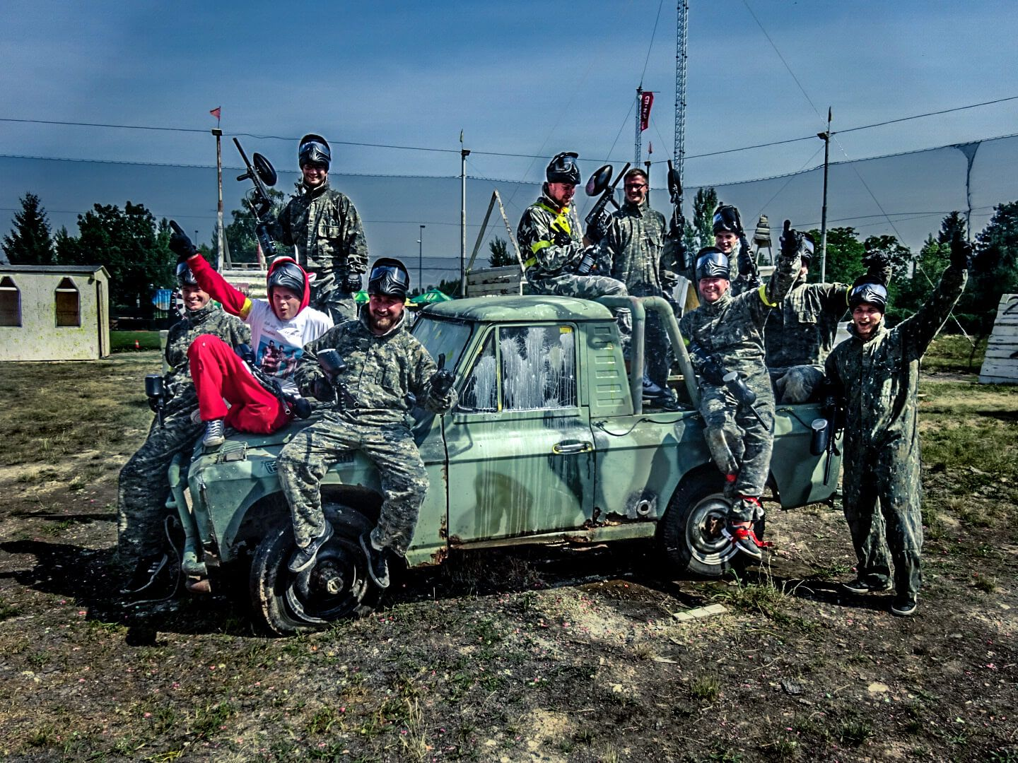 Paintball in Prague